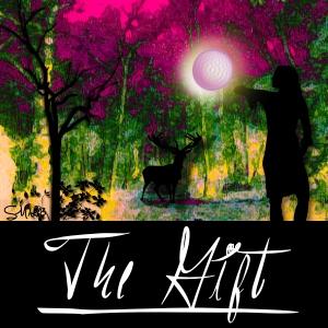 Cover for her novel/story.