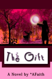 The Gift by pseudonym A*Faith - and an excellent supernatural/romance/dark type of novel too!