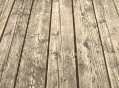 29. T - Wood Decking - Barrie, Ontario, Canada July 2014. (SM CADMAN)