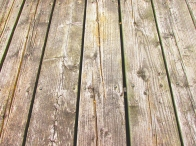 43. C - Wood Decking - Barrie, Ontario, Canada July 2014. (SM CADMAN)