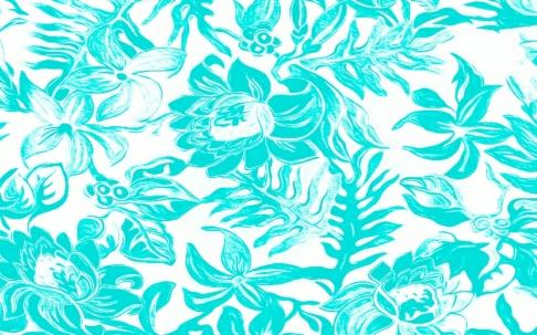 Aqua Flower
