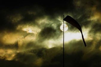 flag moon sun